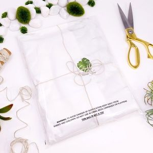 50 6x9 Suffocation Warning self seal clear bags
